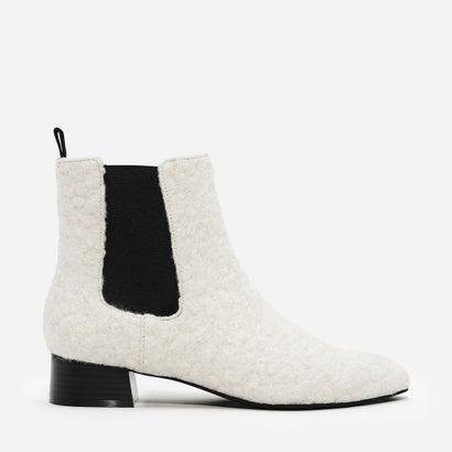 チェルシー ブーツ / CHELSEA BOOTS (White)