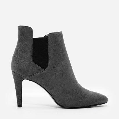 ヒール チェルシー ブーツ / HEELED CHELSEA BOOTS (Grey)