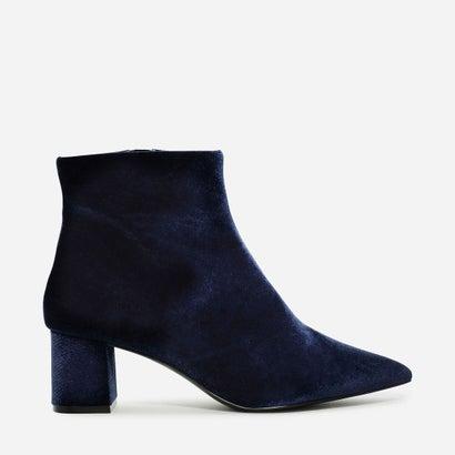 ポイント アンクル ブーツ / POINTED ANKLE BOOTS (Blue)