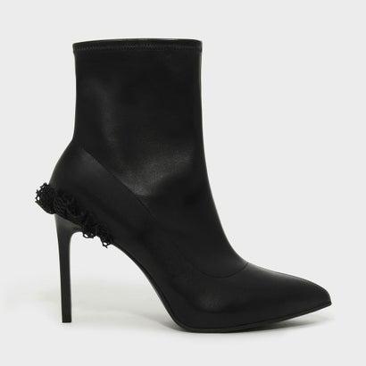 アンクルブーツスティレット / ANKLE BOOT STILETTOS (Black)