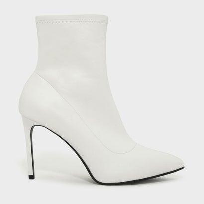 アンクルブーツスティレット / ANKLE BOOT STILETTOS (White)