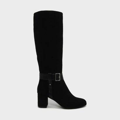 テクスチャード バックル ブーツ / TEXTURED BUCKLE BOOTS (Black)