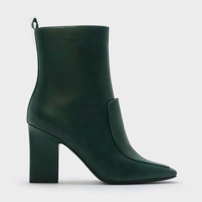 チャンキーヒールブーツ / CHUNKY HEEL BOOTS (Green)