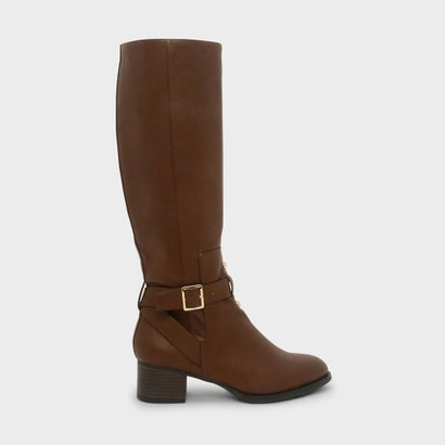 バックルニーブーツ / BUCKLE KNEE BOOTS (Brown)