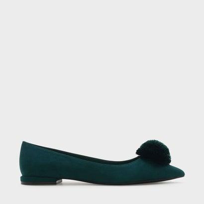スエードフラットパンプス / SUEDE FLAT PUMPS (Green)