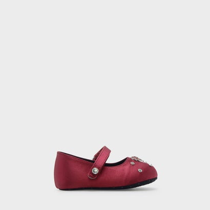 エンベリッシュドメリージェーンフラット / EMBELLISHED MARY JANE FLATS (Red)