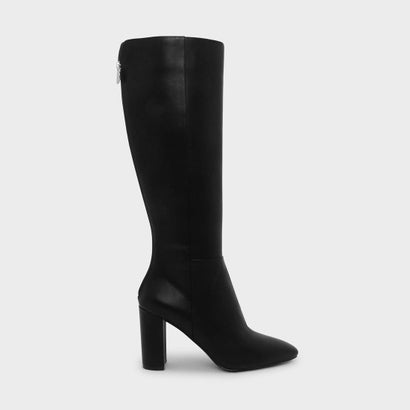 ニーハイブーツ / KNEE HIGH BOOTS (Black)
