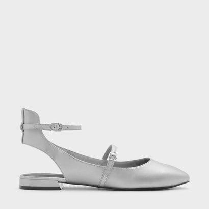 アンクルストラップメアリージェーンサンダルANKLE STRAP MARY JANE SANDALS (Silver)