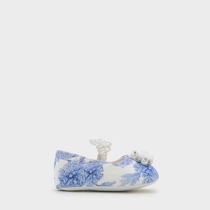 キッズエンベリッシュフラット / KIDS EMBELLISHED FLATS (Blue)