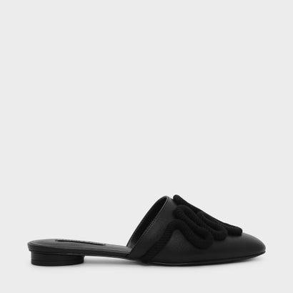 ファッションベーシックサンダル / FASHION BASIC SANDALES (Black)