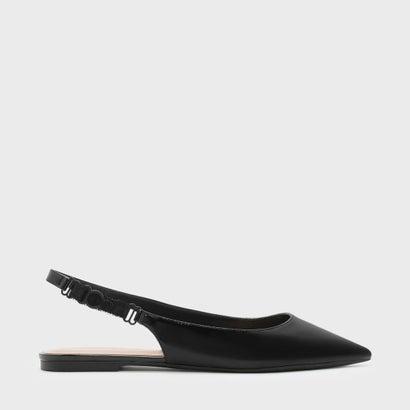 ポインテッド スリングバック フラット / POINTED SLINGBACK FLATS (Black)