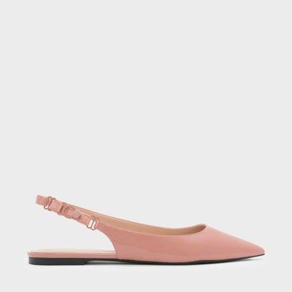 ポインテッド スリングバック フラット / POINTED SLINGBACK FLATS (Pink)