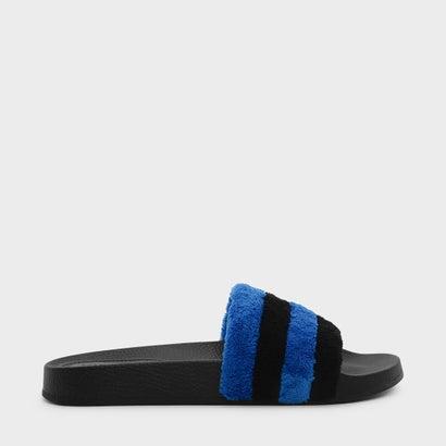 テリークロススライダー / TERRY CLOTH SLIDERS (Black)