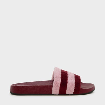 テリークロススライダー / TERRY CLOTH SLIDERS (Burgundy)