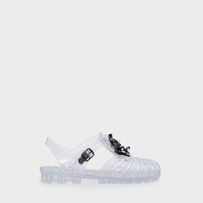 キッズジェリーケージサンダル / KIDS JELLY CAGED SANDALS (White)