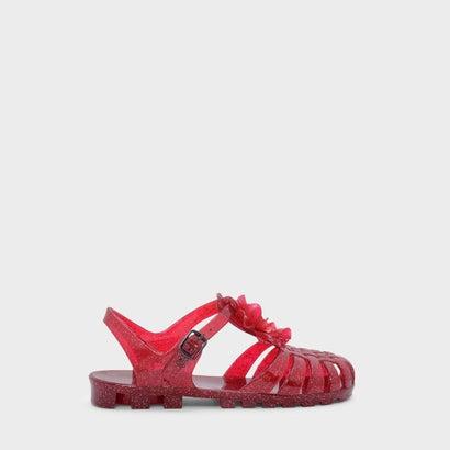 キッズジェリーケージサンダル / KIDS JELLY CAGED SANDALS (Red)
