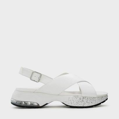クリスクロススリングバックサンダル / CRISS CROSS SLINGBACK SANDALS (White)