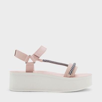 ロープディテールフラットフォーム / ROPE DETAIL FLATFORMS (Pink)