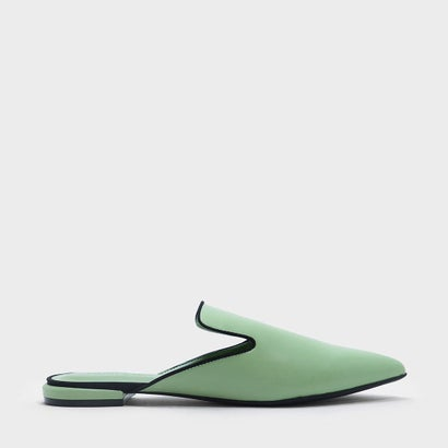 メッシュディテール スリッポン / MESH DETAIL SLIP ONS (Green)