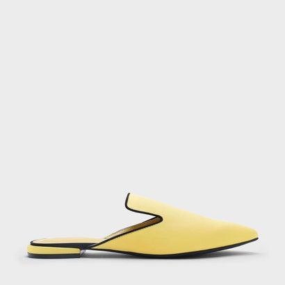 メッシュディテールスリッポン / MESH DETAIL SLIP ONS (Yellow)