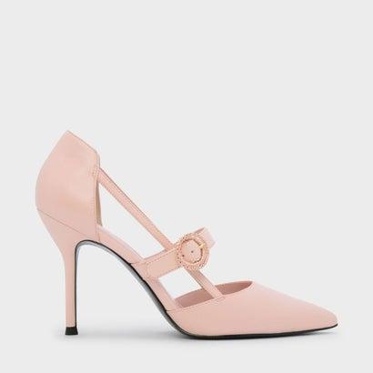 カットアウトディテール メリージェーン スティレット / CUT OUT DETAIL MARY JANE STILETTOS (Pink)