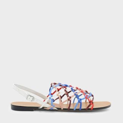 キトンウィーブサンダル / KNOTTED WEAVE SANDALS (White)