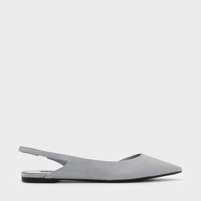 スリングバック ドルセイフラット / SLINGBACK D'ORSAY FLATS (Grey)