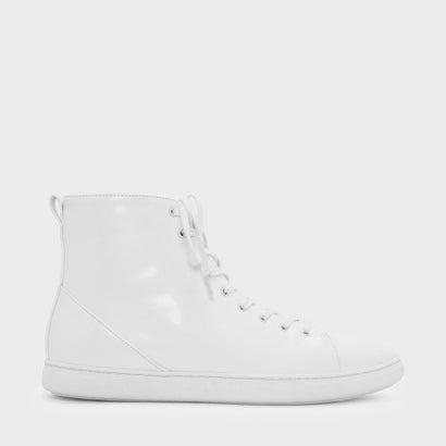 クラシック ハイカットスニーカー / CLASSIC HIGH CUT SNEAKERS (White)