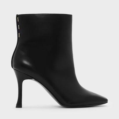ミニスクエアトゥブーツ / MINI SQUARE TOE BOOTS (Black)