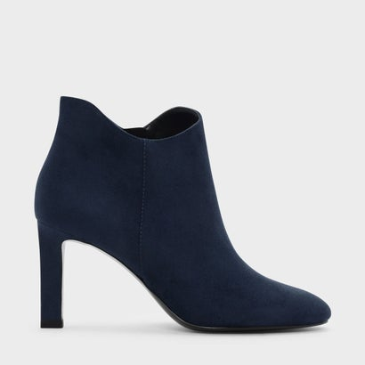 テパードヒールブーティ / TAPERED HEEL BOOTIES (Dark Blue)