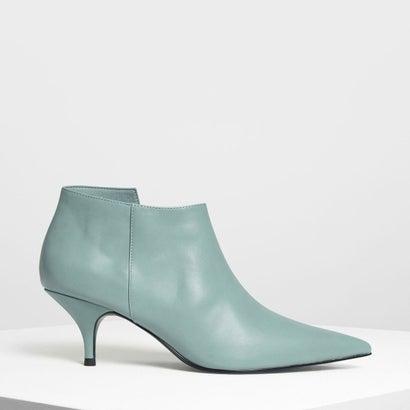 ポインテッドアンクルブーツ / POINTED ANKLE BOOTS (Green)