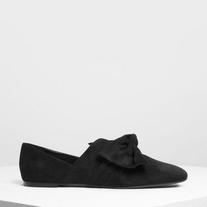 ノットディテールフラット / Knot Detail Flats (Black)
