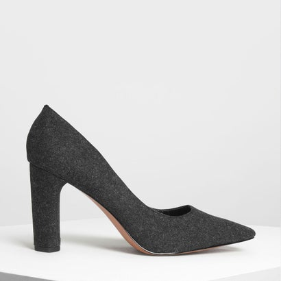 クラシック パンプス / Classic Pumps(Black Textured)