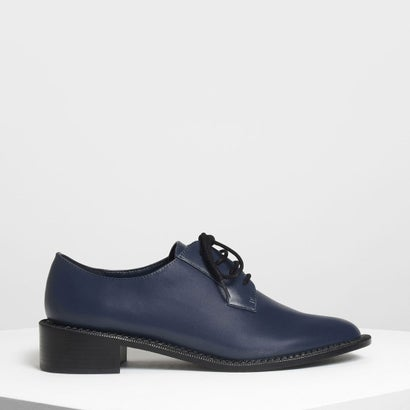 クラシック ダービーシューズ / Classic Derby Shoes (Dark Blue)