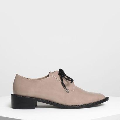 クラシック ダービーシューズ / Classic Derby Shoes (Taupe)