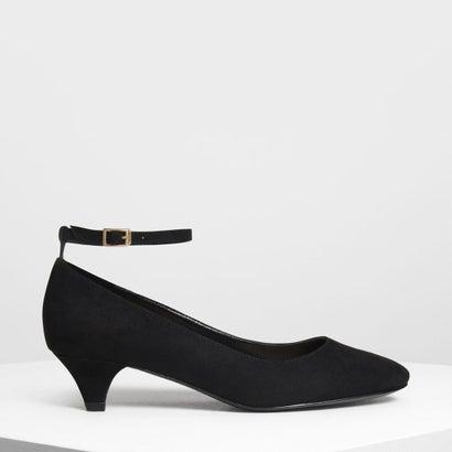 アンクルストラップ パンプス / Ankle Strap Pumps (Black)