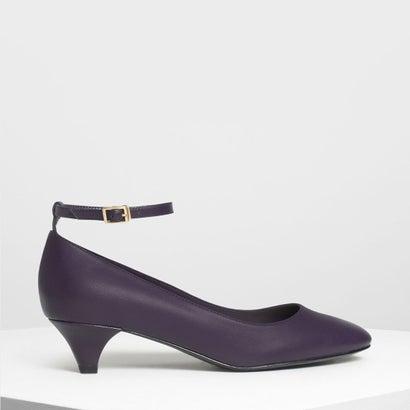 アンクルストラップ パンプス / Ankle Strap Pumps (Purple)