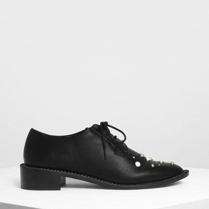 クラシック ダービーシューズ / Classic Derby Shoes (Black)