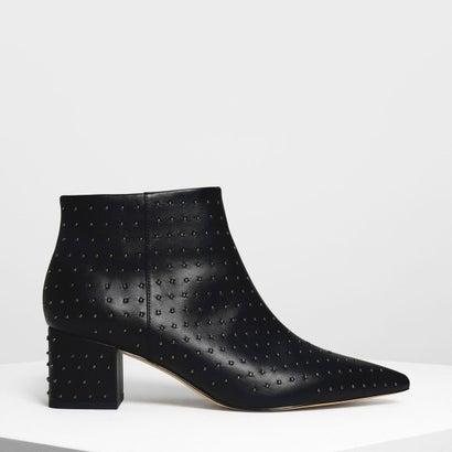 クラシックポインテッドアンクルブーツ / Classic Pointed Ankle Boots (Black)