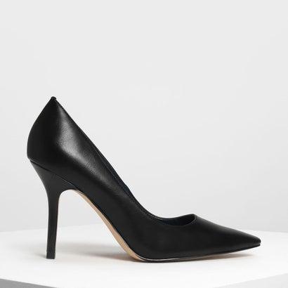 クラシックスティレットパンプス / Classic Stiletto Pumps (Black)