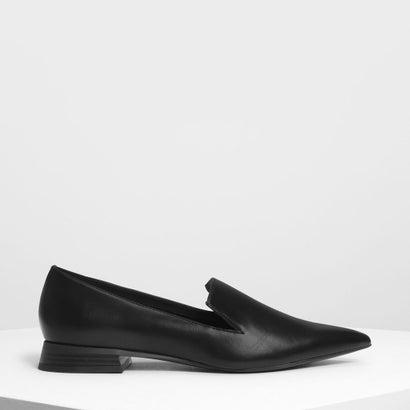 クラシックポインテッドローファー / Classic Pointed Loafers (Black)