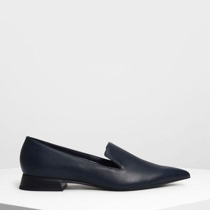 クラシックポインテッドローファー / Classic Pointed Loafers (Dark Blue)