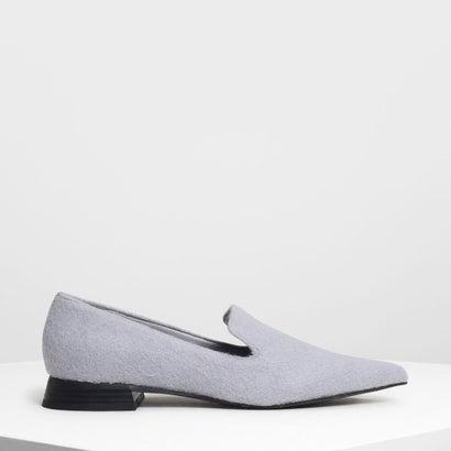 クラシックポインテッドローファー / Classic Pointed Loafers (Light Blue)