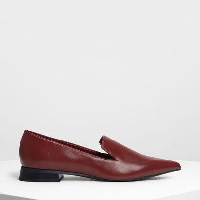 クラシックポインテッドローファー / Classic Pointed Loafers (Burgundy)
