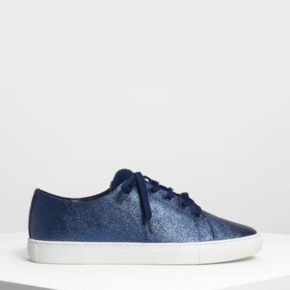 メタリックスニーカー / Metallic Sneakers (Blue)