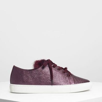 メタリックスニーカー / Metallic Sneakers (Purple)