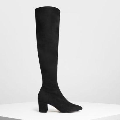 クラシックニーブーツ / Classic Knee Boots (Black)