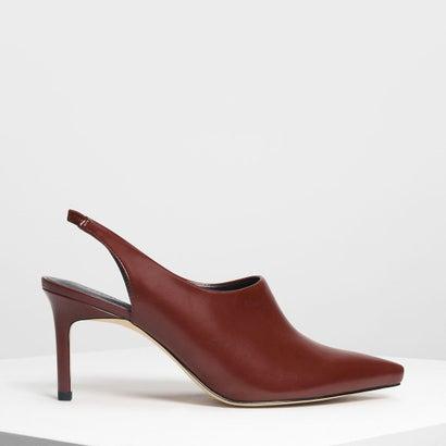 スリングバック ポインテッド ヒール / Slingback Pointed Heels (Red)