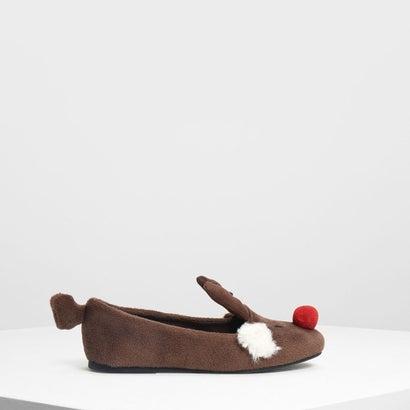キッズトナカイ バレリーナ / Kids Reindeer Ballerinas (Brown)