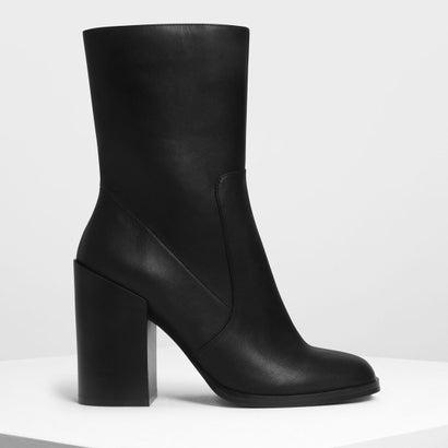 クラシック カフブーツ / Classic Calf Boots (Black)